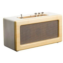 Lenco BT 300 Oak Bluetooth speaker