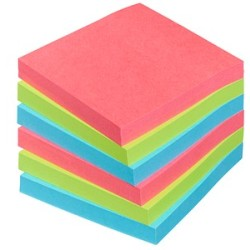 Post it® Bora Bora Haftnotizen extrastark 6546SJ farbsortiert 6 Blöcke
