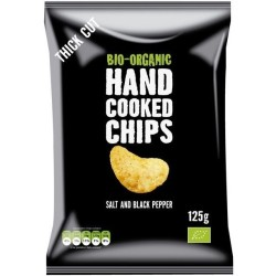 Trafo Hand Cooked Chips Salt and Black Pepper bio