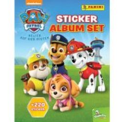 Panini PAW Patrol Sticker Album Set 338 60377