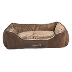 Scruffs Chester Box Bed Chocolate (Braun) XL