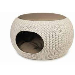 Curver Cozy Pet Home Hellbeige
