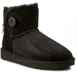 UGG Mini Bailey Button Ii Winterstiefeletten schwarz Damen Gr. 37