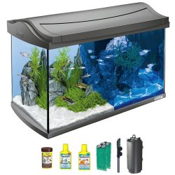 Tetra AquaArt LED Aquarium Komplettset Anthrazit 60