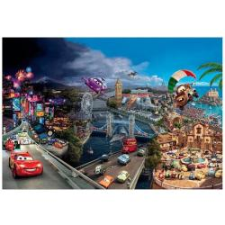 Komar Fototapete Disney Cars World 368 cm x 254 cm