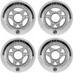 Powerslide Rolle Infinity 100mm 85a 4er Pack weiß 99