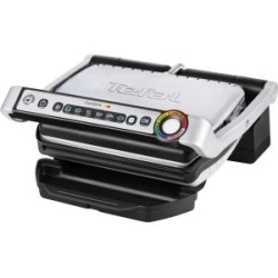 Tefal OptiGrill GC 702D Grill elektrisch 600 qcm Black Brushed Stainless Steel (GC 702D)