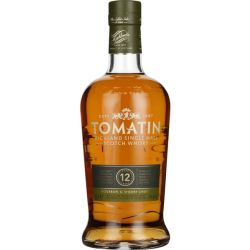 Tomatin Highland Single Malt Scotch Whisky 12 Years Whisky Schottland Trocken 0 7l