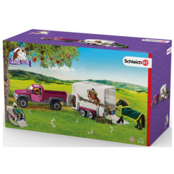 Schleich Pick up with horse box