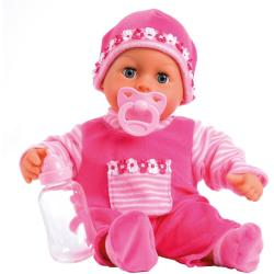 Bayer Babypuppe »First Words pink«