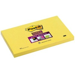 Post it® Super Sticky Haftnotizen extrastark 655 S gelb 12 Blöcke