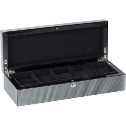 Uhrensammler 5er Box Cool Carbon 309314