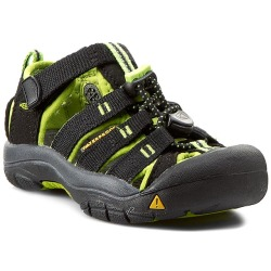 Keen Newport H2 Junior (Black Lime Green)
