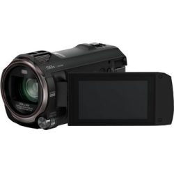 Panasonic »HC V777« Camcorder (WLAN (Wi Fi) NFC 20x opt. Zoom 50x intelligenter Zoom Wireless Twin Camera USTREAM Hybrid OIS)