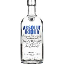 Absolut Vodka 0 7L (40 Vol.)