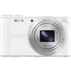 Sony »Cyber Shot DSC WX350« Superzoom Kamera (25mm Sony G 18 2 MP 20x opt. Zoom WLAN (Wi Fi) 20 fach optischer Zoom)