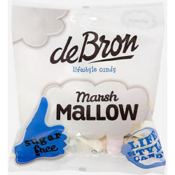 De Bron Lifestyle Candy Zuckerfreie Marsh Mallows