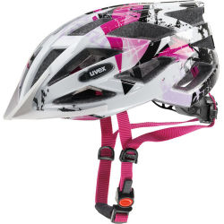 Uvex air wing white pink 52 27 cm