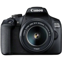 Canon EOS 2000D 18 55 IS II Black