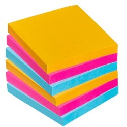Post it Super Sticky Neon 6x90Bl.76x76