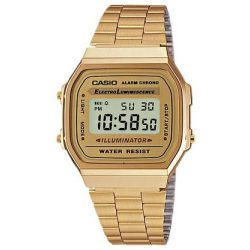 Casio Uhren Vintage Collection A168WG 9EF