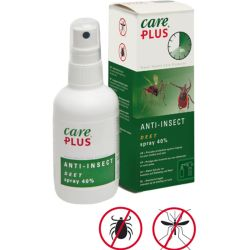 CARE PLUS Insektenschutz Deet Anti Insect Spray 40 100 ml
